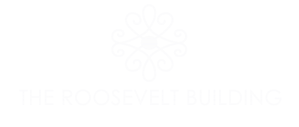 The Roosevelt Building Logo (in white)